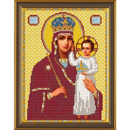 """Набор для вышивания бисером Nova sloboda """"Богородица «Призри на смирение»"""""""
