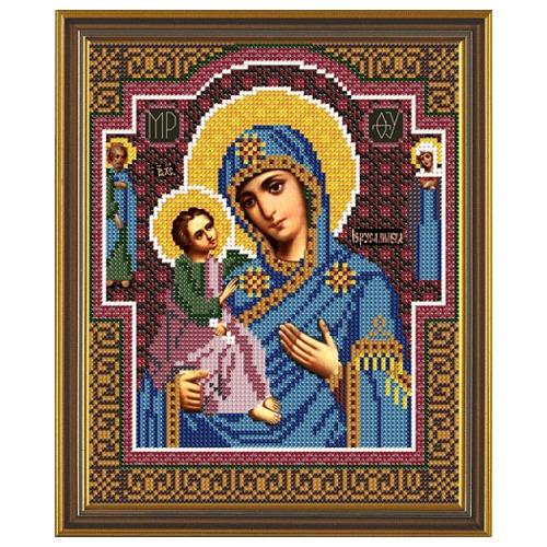 """Набор для вышивания бисером Nova sloboda """"Богородица Иерусалимская"""""""