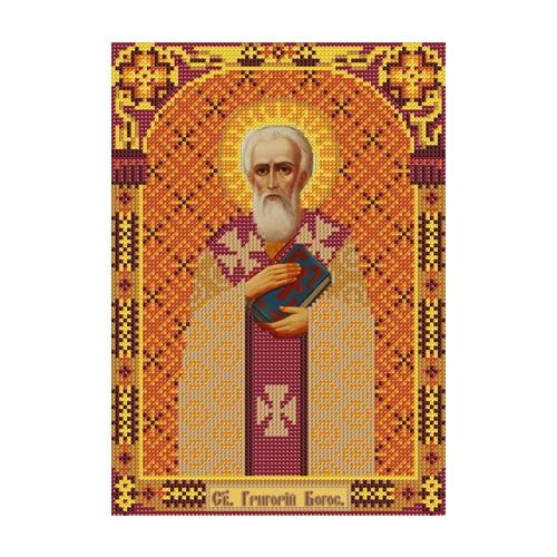"""Набор для вышивания бисером Nova sloboda """"Свт. Григорий Богослов"""""""