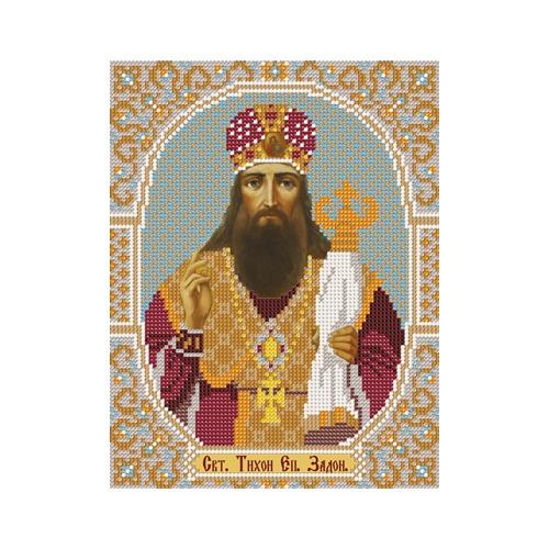 """Набор для вышивания бисером Nova sloboda """"Свт. Тихон Епископ Задонский"""""""