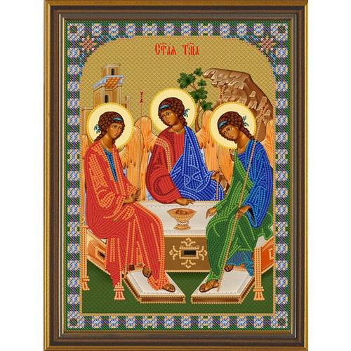 """Набор для вышивания бисером Nova sloboda """"Св. Троица"""""""