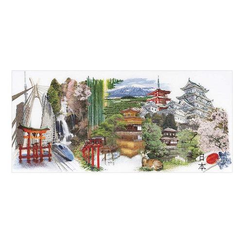 """Набор для вышивания крестом Thea Gouverneur """"Япония"""""""