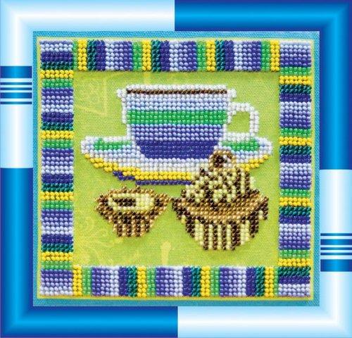 """Набор для вышивания бисером Абрис Арт """"Горячий шоколад"""""""