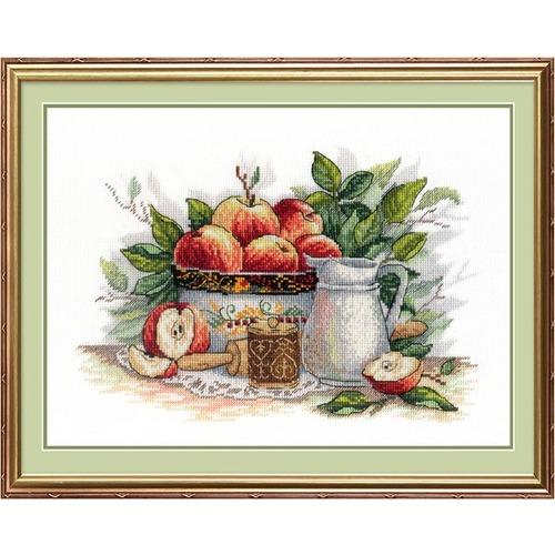 """Набор для вышивания крестом М.П. Студия """"Яблочный спас"""""""