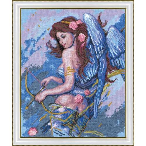 """Набор для вышивания крестом Чаривна Мить """"Ангел с луком (К. Банга)"""""""