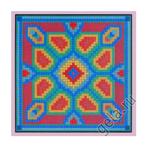 """Набор для вышивания крестом Candamar Designs """"Геометрические цветы"""""""
