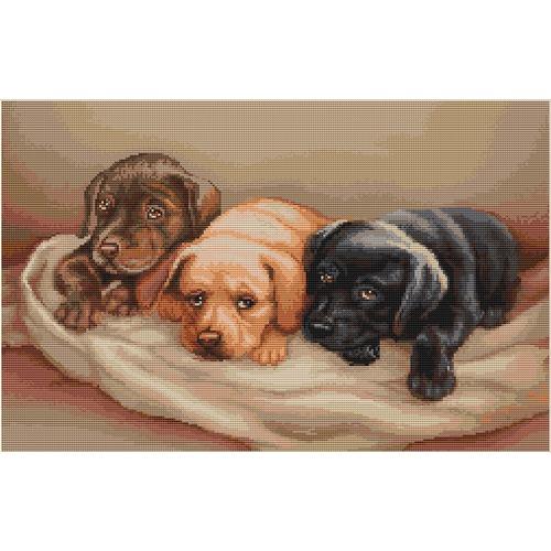 """Гобелен Luca-S """"Три собачки"""""""