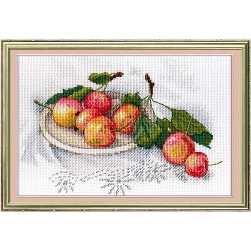 """Набор для вышивания крестом М.П. Студия """"Вкус диких яблок"""""""