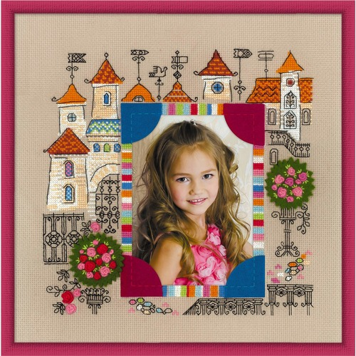 """Набор для вышивания крестом Риолис Панно для фотографии """"Замок принцессы"""""""