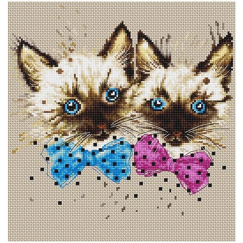 """Набор для раскрашивания Luca-S """"Кошки"""""""