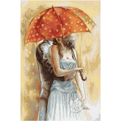 "Гобелен Luca-S ""Под зонтом 2"""