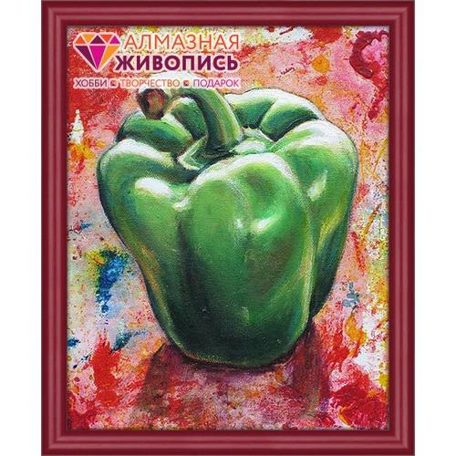"""Набор для выкладывания мозаики Алмазная живопись """"Зеленый перец"""""""