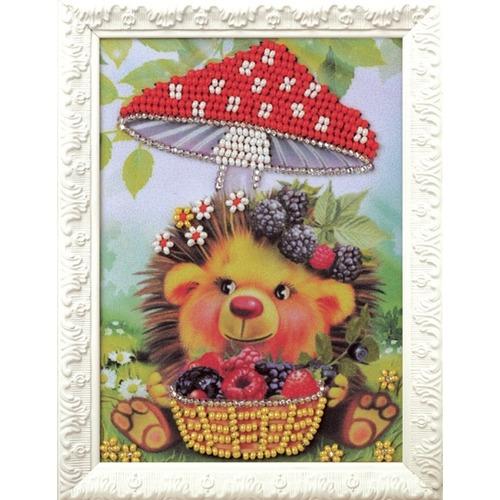 """Набор для вышивания бисером Радуга бисера (Кроше) """"Ёжик"""""""