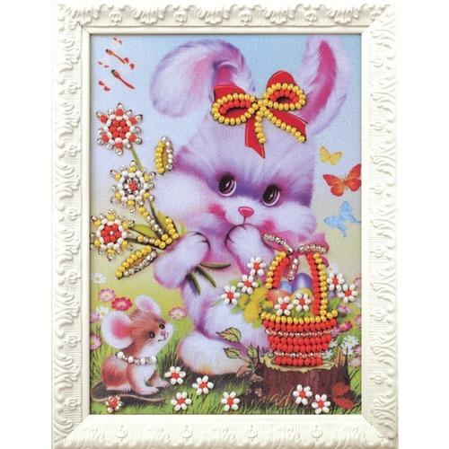 """Набор для вышивания бисером Радуга бисера (Кроше) """"Счастливый зайчик"""""""