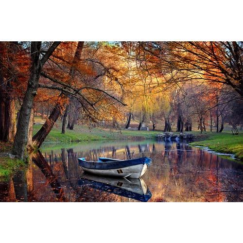 """Канва/ткань с нанесенным рисунком Матрёнин посад """"Осенний вальс"""""""