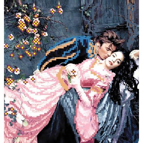 """Канва/ткань с нанесенным рисунком Матрёнин посад """"Ромео и Джульета"""""""