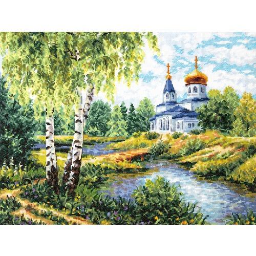 """Набор для вышивания крестом Чудесная игла """"Дорога к Храму"""""""