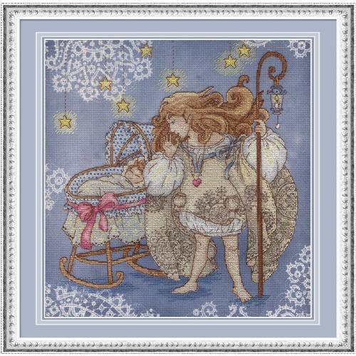 """Набор для вышивания крестом М.П. Студия """"Оберегая детский сон"""""""