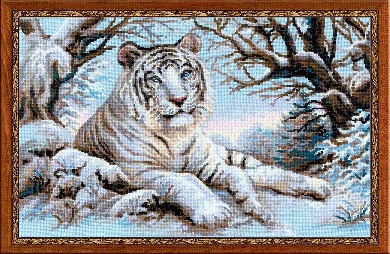 Картинка для вышивки с тигром