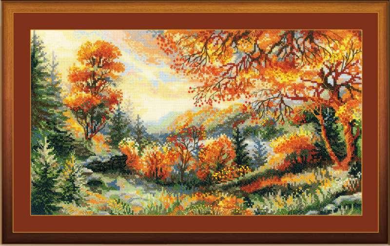 Осень вышивка крестом наборы