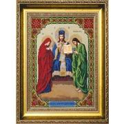 """Набор для вышивания бисером Чаривна Мить """"Иисус Христос, Царь Славы"""""""