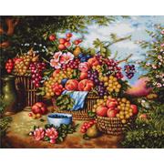 """Набор для вышивания крестом Luca-S """"Натюрморт на фоне природы"""""""
