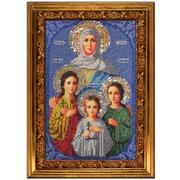 """Набор для вышивания бисером Вышиваем бисером """"Вера, Надежда, Любовь и их мать Софья"""""""