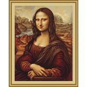 """Набор для вышивания крестом Luca-S """"Мона Лиза"""""""