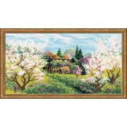 """Набор для вышивания крестом Риолис """"Яблоневый сад"""""""