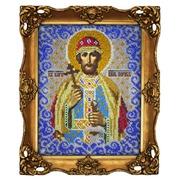 """Набор для вышивания бисером Вышиваем бисером """"Святой князь Борис"""""""