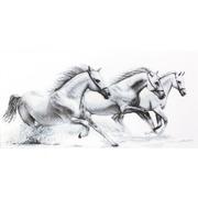 "Гобелен Luca-S ""Белые лошади"""