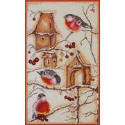 """Набор для вышивания крестом Марья искусница """"Пташки по рисунку Логиновой"""""""