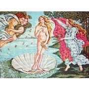"""Канва/ткань с нанесенным рисунком Gobelin-L """"Рождение Венеры"""""""