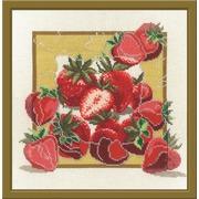 """Набор для вышивания крестом Овен """"Дары садов. Клубника"""""""