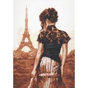 """Набор для вышивания крестом Палитра """"Прогулка по Парижу"""""""