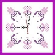 """Набор для вышивания бисером Zengana """"Часы. Весна"""""""