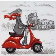 """Набор для вышивания крестом Марья искусница """"Рим"""" по рисунку О. Куреевой"""