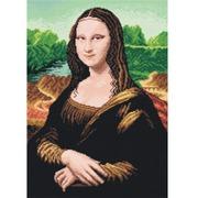 """Канва/ткань с нанесенным рисунком Orchidea """"Мона Лиза (Л. да Винчи)"""""""