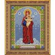 """Набор для вышивания бисером Паутинка """"Пресвятая Богородица Благодатное небо"""""""