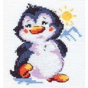 """Набор для вышивания крестом Алиса """"Пингвиненок"""""""