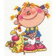 """Набор для вышивания крестом Алиса """"Егоза"""""""