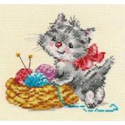 """Набор для вышивания крестом Алиса """"Малышка - рукодельница"""""""
