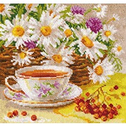 """Набор для вышивания крестом Алиса """"Полуденный чай"""""""