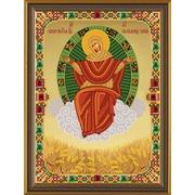 """Набор для вышивания бисером Nova sloboda """"Божья Матерь Спорительница Хлебов"""""""