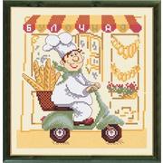 """Набор для вышивания крестом Овен """"Веселый повар"""""""