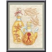 """Набор для вышивания крестом Овен """"Кухонные миниатюры"""""""