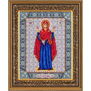 """Набор для вышивания бисером Паутинка """"Пресвятая Богородица Нерушимая стена"""""""
