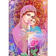 """Канва/ткань с нанесенным рисунком Конёк """"Свет любви"""""""