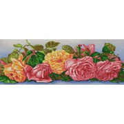 """Канва/ткань с нанесенным рисунком Конёк """"Розы"""""""