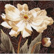 """Набор для вышивания крестом Алиса """"Белые цветы. В объятиях света"""""""